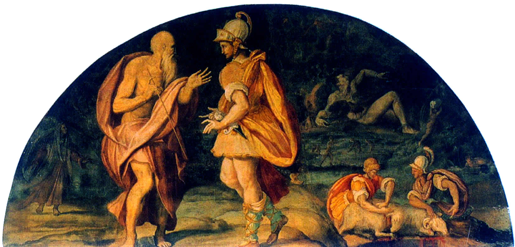 a comparison of oedipus and odysseus Opposing this belief, odysseus holds back emotions of rage and homesickness in order to complete the task at hand homer, living in greek society, understood that his people thought more about the problem before coming to a quick conclusion and then acting on it impulsively.